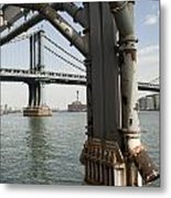 Ny Composition 4 Metal Print by Art Ferrier