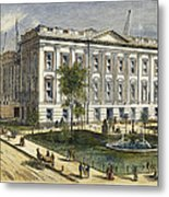 Ny County Courthouse Metal Print