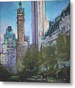 Nyc Central Park 2 Metal Print by Ylli Haruni