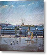 Nyc Grand Ferry Park 2 Metal Print