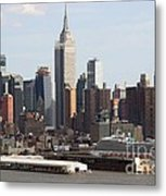 Nyc In The Afternoon Metal Print