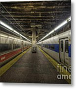 Nyc Subway Metal Print