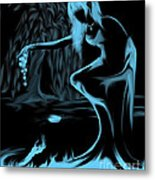 Nymph And The Goblin Metal Print