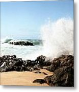 Oahu North Shore Breaker Metal Print