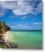Oahu Solace Metal Print