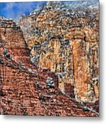 Oak Creek Canyon Metal Print