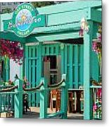 Oak Street Beachstro Metal Print
