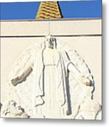 Oakland California Temple . The Church Of Jesus Christ Of Latter-day Saints . 7d11350 Metal Print by Wingsdomain Art and Photography