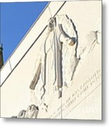Oakland California Temple . The Church Of Jesus Christ Of Latter-day Saints . 7d11351 Metal Print by Wingsdomain Art and Photography