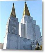 Oakland California Temple . The Church Of Jesus Christ Of Latter-day Saints . 7d11360 Metal Print
