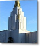 Oakland California Temple . The Church Of Jesus Christ Of Latter-day Saints . 7d11377 Metal Print