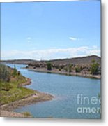 Oasis In The Wyoming Desert Metal Print