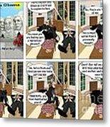 Obama N Freud I Metal Print