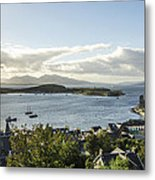 Oban Bay View Metal Print