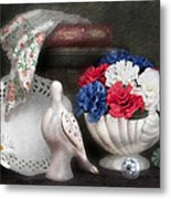 Objects In Still Life Metal Print