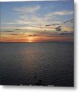 Observation Tower Sunset  Metal Print
