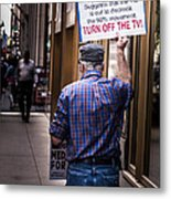 Occupy Chicago V Metal Print
