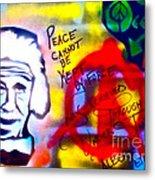 Occupy Einstein Metal Print