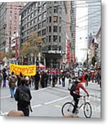 Occupy Sf . 7d9733 Metal Print