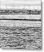 Ocean City Bridge Metal Print