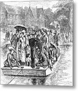 Ocean Grove Ferry, 1878 Metal Print