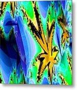Ocean Stars Metal Print
