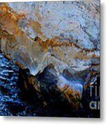 Shell Beach Ocean Tunnel Metal Print
