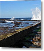 Ocean View Metal Print by Kaye Menner