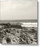 Ocean Wave View Metal Print