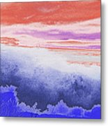 Ocean Waves Breaking At You Metal Print
