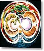 Oceana Orb Metal Print