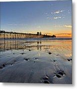 Oceanside Pier Metal Print