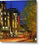 Oconnell Street Bridge, Dublin, Co Metal Print