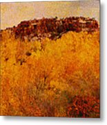 October  Metal Print by Ann Powell