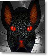 October Cat  Metal Print