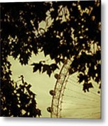 October Mist Metal Print