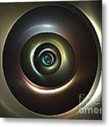 Ocular Lens Metal Print