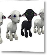 Odd One Out Metal Print