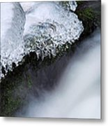 Of Ice And Water Metal Print