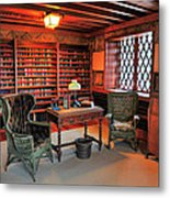 Office At Gillette Castle Metal Print