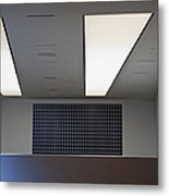 Office Ceiling Metal Print