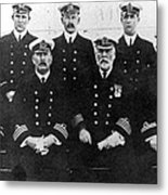 Officers Of The Titanic, 1912 Metal Print