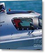 Offshore Racer Cockpit Metal Print