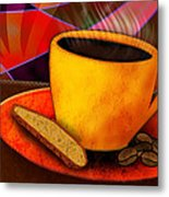 Ohhh.. Coffee Metal Print by Melisa Meyers