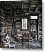 Ohio Cabin Metal Print