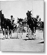 Ohio: Horse Race, 1904 Metal Print