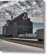 Ohio Street Mill Metal Print