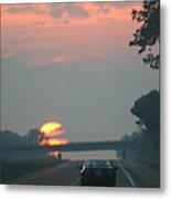 Ohio Sunrise Metal Print