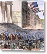 Ohio: Union Parade, 1861 Metal Print