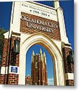 Oklahoma City University Metal Print